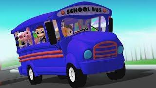 Rodas No Ônibus | crianças canções populares | Wheels On The Bus Song | Baby Box Português