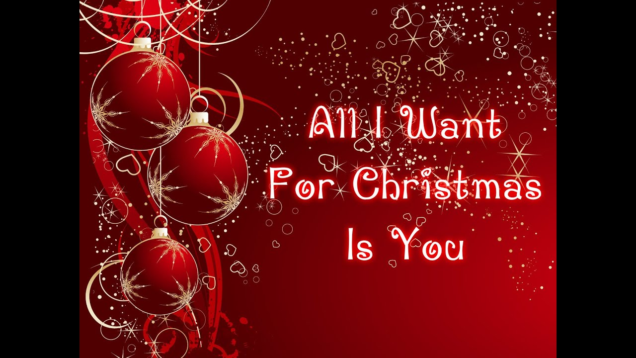 All I Want For Christmas Is You Original.Mariah Carey All I Want For Christmas Is You Lyrics Song