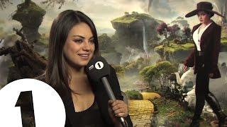 Mila Kunis talks to Chris Stark off the Scott Mills show on Radio 1