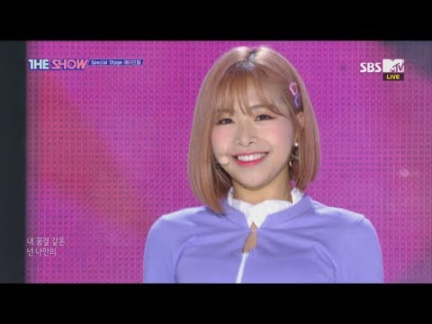 APRIL, Mr. Chu(Apink) [THE SHOW 181023]