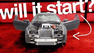 Trying To Start A DIRT CHEAP V8-Swapped Sports Car (Hasn't Run In YEARS!)