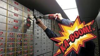 CRACKING OPEN LOCKED SAFE!!