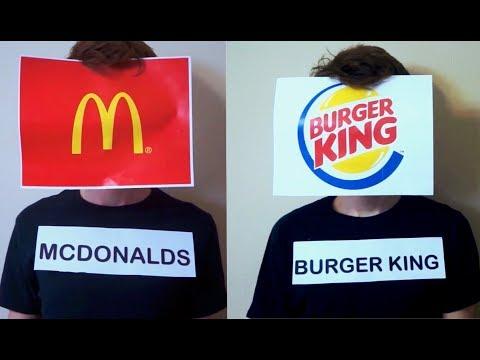 If Fast Food Restaurants Had A Rap Battle..