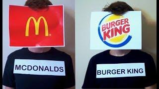 If Fast Food Restaurants Had A Rap Battle.. *EPIC*