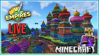 Let's Work on the Base! | Empires Smp LIVE