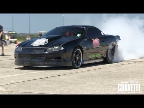253.1mph - World's Fastest Camaro - Texas Mile 2012