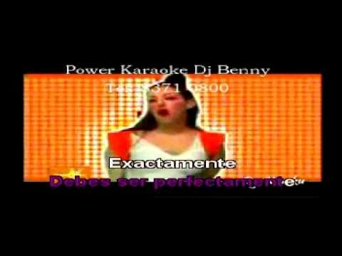 PERFECTA Miranda Y Julieta V Voz Power Karaoke Dj Benny