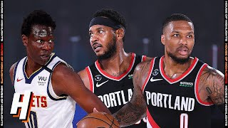 Portland Trail Blazers vs Denver Nuggets - Full Game Highlights | August 6 | 2019-20 NBA Season