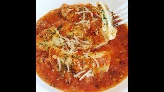 Spinach & Cheese Stuffed Eggless Ravioli