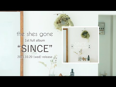 the shes gone 1st full album 「SINCE」ティザー