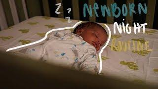 Newborn Night Routine 2018   3 Week Old Baby