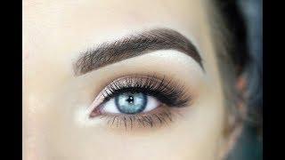 EASY Back to School Eye Makeup Tutorial | JACLYN HILL PALETTE