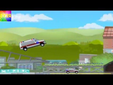 Машина скорая помощь спешит к больному