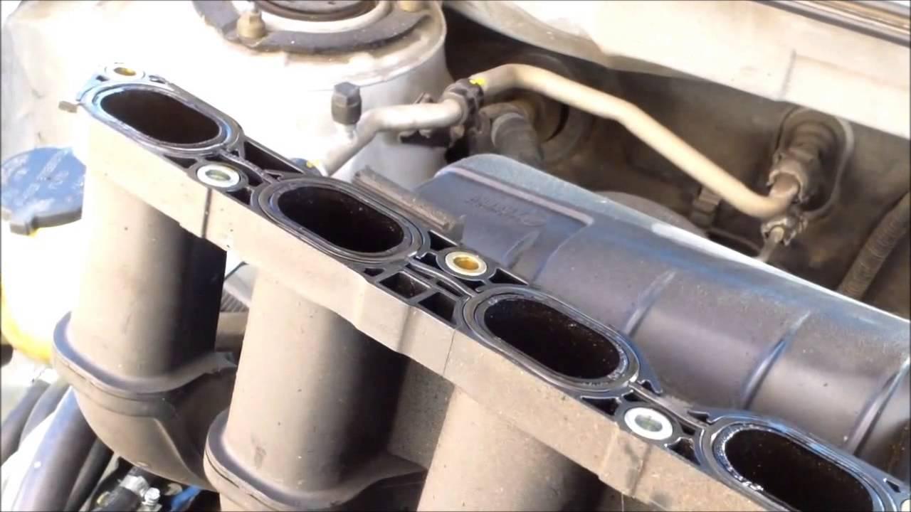P0171 Replace intake manifold gasket 2005 Toyota Matrix ...