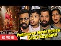 Padmaavat Movie first review