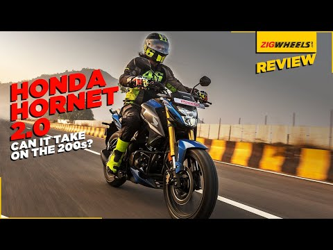 Honda Hornet 2.0 Road Test Review   Performance, Features, Mileage & More   Can It Take On The 200s?