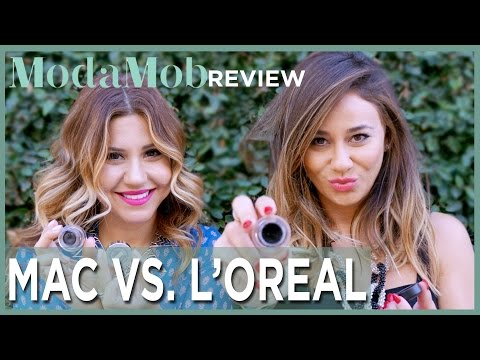 MAC Eyeliner Pot Vs. Loreal Lacquer Liner Product Review