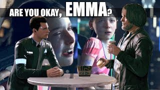DBH - Connor Talks To Emma And Lies To Hank About What Happened (Probability of Success 0%)