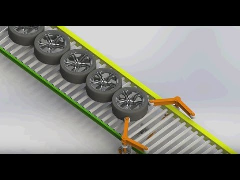 New Singulator Provides Efficient Tire Handling - Bastian Solutions