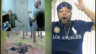 Try not to laugh challenge Military edition Reaction!! (Happy Veterans Day!)
