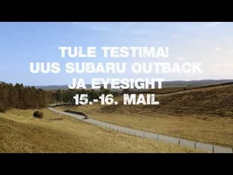 Subaru EyeSight juhiabi süsteem