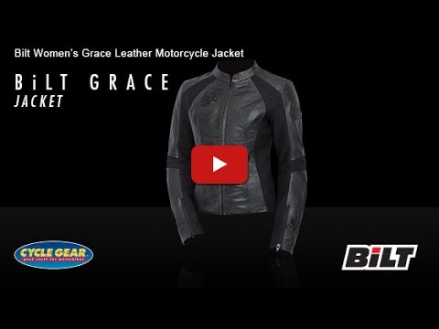 BiLT - Women's Grace Leather Motorcycle Jacket Official Product Overview at Cycle Gear