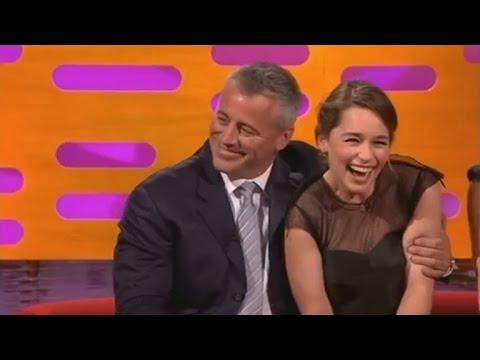 WATCH: Emilia Clarke is a Huge 'Friends' Fan, Gets Matt LeBlanc to Ask: 'How You Doin?'