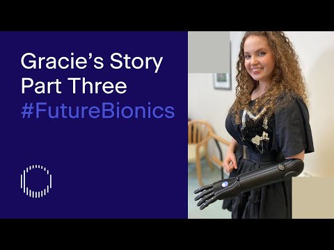 Actress Gracie McGonigal becomes 'bionic' in a new YouTube series by the Tej Kohli Foundation.