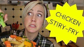 MY DRUNK KITCHEN: Chicken Stir-Fry!