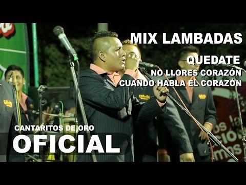 Mix Lambadas / No Llores Corazon CANTARITOS DE ORO Concierto 2015 HD