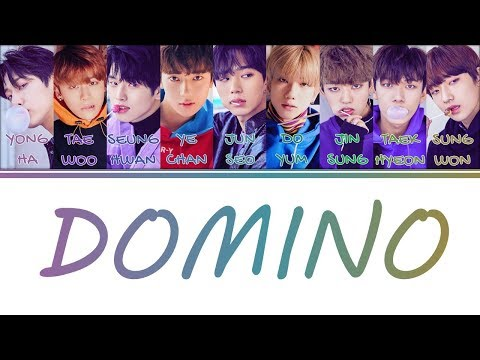 [Color Coded Lyrics] 1THE9(원더나인) - Domino (Feat. Crush) (Prod. Crush, Gxxd) (Han/Rom/Eng)