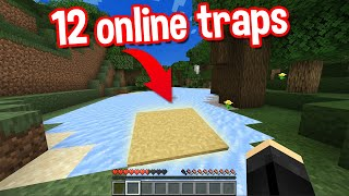MOST EFFECTIVE MINECRAFT ONLINE TRAPS BY SCOOBY CRAFT PART 3  CREEPER