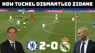 Tactical Analysis : Chelsea 2 – 0 Real Madrid   Tuchel's Complete Domination of Zidane  