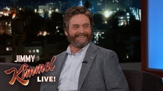 Zach Galifianakis Has Had the Same Car for 20 Years