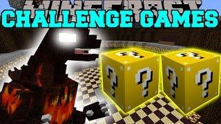 Minecraft: BURNING GODZILLA CHALLENGE GAMES - Lucky Block Mod - Modded Mini-Game
