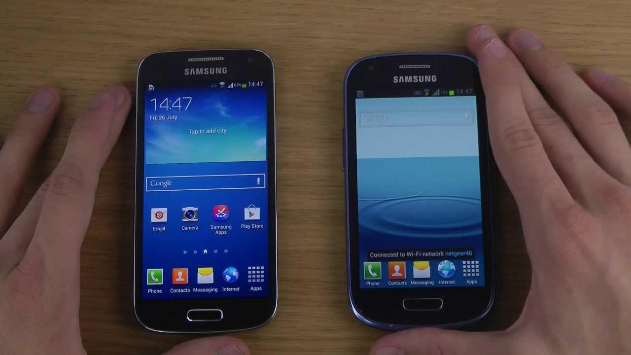 Samsung Galaxy S4 Mini vs. Samsung Galaxy S3 Mini - Which ...  Samsung Galaxy ...