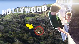 Climbing The Hollywood Sign!
