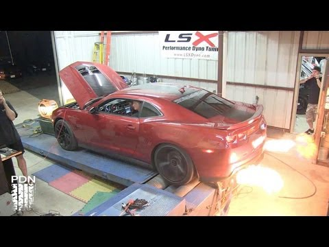 ZL1 Camaro Spitting Fire