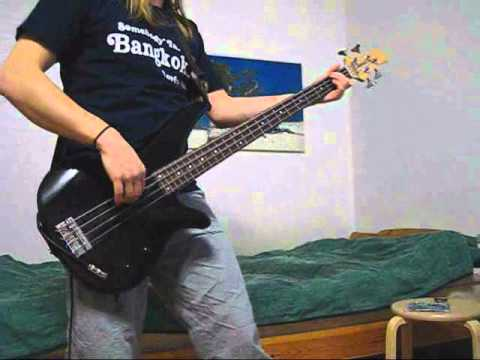 Bass line compilation for Blaze by Lagwagon (cover)