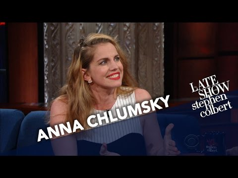 Anna Chlumsky Keeps Falling Asleep In Strange Places