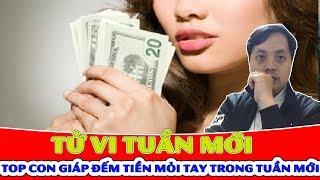 Tử Vi Tuần Mới (22 - 28/4): Top Con Giáp Hưởng Lộc Trời Ban Tiền Tiêu Không Hết