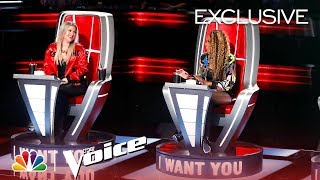 The Voice 2018 - Kelly Clarkson and Jennifer Hudson Are TEAM K-HUD (Digital Exclusive)