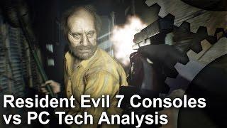 Resident Evil 7 - PS4/ Pro/ Xbox One/ PC Graphics Comparison
