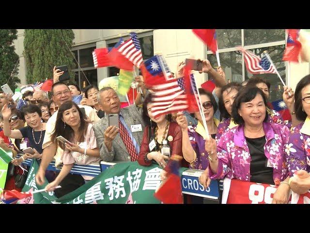 蔡總統過境休士頓 85℃事件引千僑胞赴宴