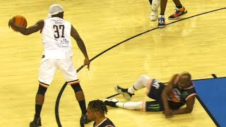 Floyd Mayweather ANKLES BROKEN + GRONK Gets BUCKETS! Snoop, Kuz, Nate Robinson & More at Celeb Game