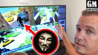Game Master Comes to Our House! Caught On Camera!!!