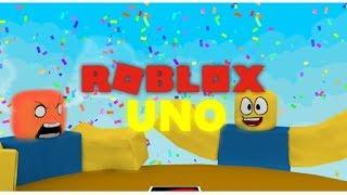 Roblox: I Love The Game UNO Guys!! | Roblox UNO