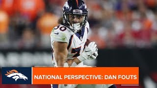 CBS analyst Dan Fouts is excited to watch the Broncos' rookie class in #DENvsLAC