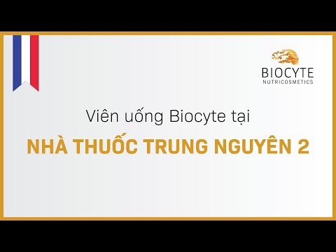 Viên uống Biocyte tại Nhà thuốc Trung Nguyên 2