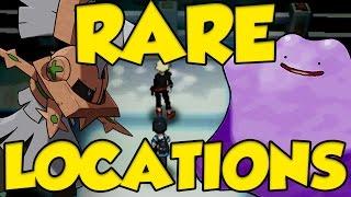 5 BEST RARE POKEMON LOCATIONS IN POKEMON SUN AND MOON - Type Null Location Pokemon Sun and Moon